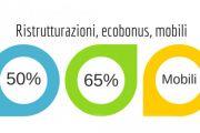 DETRAZIONE FISCALE 2019 ristrutturazioni - risparmio energetico - bonus 50 65%