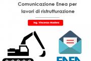 Bonus ristrutturazioni: è necessaria la comunicazione enea 2020?