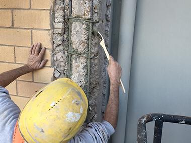Pittura Per Cemento Armato : Trattamento corrosione ferri di armatura arrugginiti e ossidati